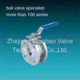 Steel di acciaio inossidabile Ball Valve con ISO5211 Direct Mounting Pad
