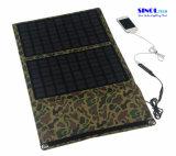 carregador solar da dobradura 20W ao ar livre com cobrar dobro do USB e da C.C. da saída (FSC-20BT)