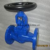 Robinet d'arrêt sphérique d'acier de fonte de normes DIN (J41H)