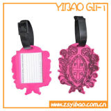 Promotion Gifts (YB-LT-04)のためのロゴのEmbossed PVC Luggage Tag