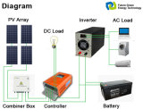 격자 순수한 정현 힘 태양 변환장치 떨어져 가정 에너지 시스템