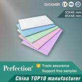 Servilleta dental de la alta calidad del papel de 2 capas y de la película de 1 capa