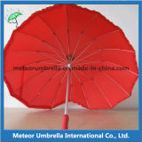 16ribs Special Heart Shape Umbrella для Lovers и Wedding