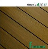 Plancher composé en bois en plastique de Decking de WPC Eco