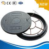 Revêtement en bitume D-400 Ductile Iron BMC Manhole Cover
