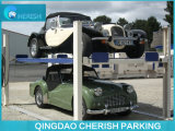 Подъем стоянкы автомобилей автомобиля оборудования гаража 4 столбов