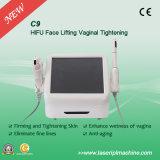 C9 Hifu portatile 2 in 1 vaginale macchina Hifu di sollevamento di fronte e stringono con Ce