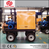 De ZelfInstructie van de Pomp van het Water van de dieselmotor met Aanhangwagen en de Luifel van het Bewijs van het Weer