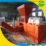 Het leven Huisvuil/Plastiek die de Dubbele Ontvezelmachine van de Schacht met SGS van Ce van ISO recycleren