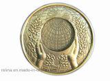 Diamond Edge를 가진 주문을 받아서 만들어진 Souvenir Challenge Coin