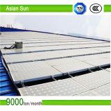 Aluminiumsolarmontage-System einfach und leistungsfähig zu installieren