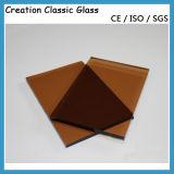 5mmの青銅色のフロートガラスは、染められたガラス、Breonzeガラス3300*2140mmを青銅色にする