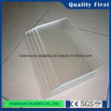 Acrílico / plexiglás transparente plástico barato lámina de cristal