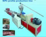 중국 제조 WPC 단면도 널 밀어남 기계