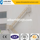 Scala diretta della struttura d'acciaio dell'alta fabbrica poco costosa di Qualtity con il disegno