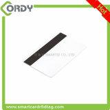 2 3 궤도를 가진 인쇄할 수 있는 PVC 공백 자석 줄무늬 카드