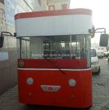 Kiosque mobile et véhicule de restaurant mobile faisant BBQ Teppanyaki Hotpot et hot dog Hamburgar
