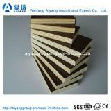 La película impermeable de Aiyang hizo frente a la madera contrachapada para el sector de la construcción