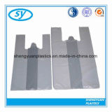Transparante HDPE Verpakkende het Winkelen van de T-shirt Plastic Zak