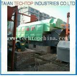 Chaudière à vapeur allumée par charbon de Tianshan et à eau chaude