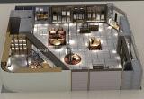 Moderne Mann-Kleidung-Speicher-Bildschirmanzeige, Einzelhandelsgeschäft-Vorrichtung