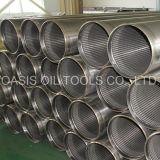 Tubo del filtro a sipario del Johnson dell'acciaio inossidabile 304