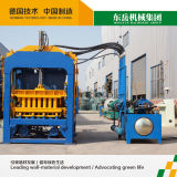 Machine automatique de fabrication de briques de ciment Qt 4-15c Block Massive Pressing