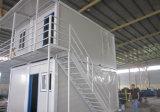 高品質の移動式およびプレハブの鋼鉄輸送箱の家