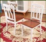 Extensible moderna muebles de madera maciza mesa de comedor y sillas