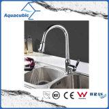 Cupc retirent le robinet simple de bassin de cuisine de traitement (AF1035-5)