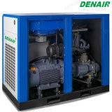 Compresor de aire de rosca rotatorio inmóvil lubricado ahorro de la energía
