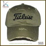 Изготовленный на заказ неструктурированный бейсбольная кепка шлема папаа огорченная равниной