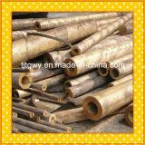 Pequeño tubo de cobre amarillo, tubo de cobre amarillo de pared gruesa