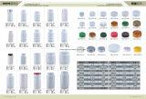 Recipienti di reazione di plastica di vendita caldi dell'HDPE del coperchio a vite 250ml per il prodotto chimico