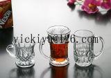 500mlガラストラの飲むマグガラスビールコップ