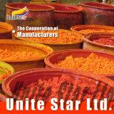 Tinte solvente complejo del metal (naranja solvente 54) para las manchas de óxido de madera