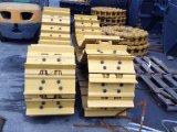 Pattino d'acciaio della pista del gatto D5h per il bulldozer del trattore a cingoli