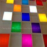 PMMA fluorescent en plastique moulant la feuille acrylique
