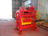 Qtj4-40土のセメントの煉瓦機械か粘土の煉瓦によって押される機械