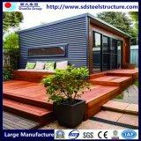 Behälter-Haus mit Schlafzimmer-Küche-Raum-Waschung-Raum