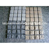 Grey/Red/Yellow naturali Granite Cobble Paving Stone per Pavers