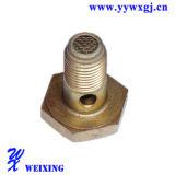 L'OEM partie l'adapteur hydraulique de matériel de connecteur d'embout de durites