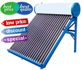 Calefator de água solar Non-Pressurized da baixa pressão, sistema de energia solar