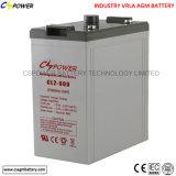 batteria profonda del AGM 2V di potere del ciclo di alta qualità 2V600ah