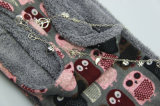 Modo Rosa acrilica/scaldino grigio del collo, sciarpa dell'accessorio di modo