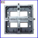 Части заливки формы кронштейна индикации LCD алюминиевые