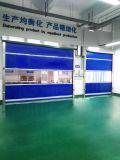 Porte flexible de vitesse de pièce propre de PVC