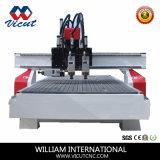 Couteau multibroche de commande numérique par ordinateur de machine de couteau de gravure du bois de commande numérique par ordinateur (VCT-1325ASC3)