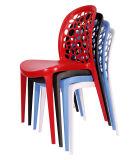 Plástico de Hzpc044-1 Addie que empila cenando la silla lateral