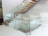 緩和された薄板にされたガラスとの商業ガラスBalustade